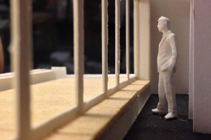Rouppe maquette terrasse duplex haut