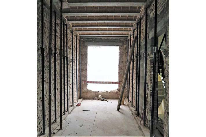 Rouppe chantier premier étage