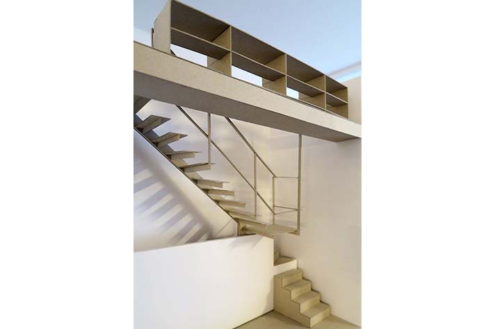 Rouppe maquette escalier